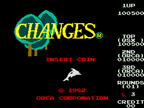 QSpaceman: Changes [changes] (Arcade Emulated / M.A.M.E.) 100,500 points on 2016-03-28 07:44:54