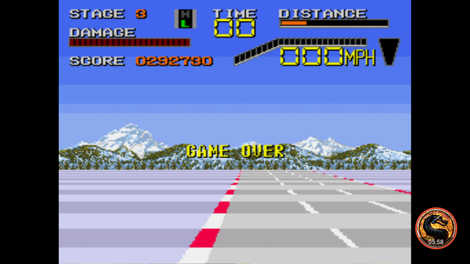 omargeddon: Chase HQ II (Sega Genesis / MegaDrive Emulated) 292,730 points on 2018-12-09 15:58:04