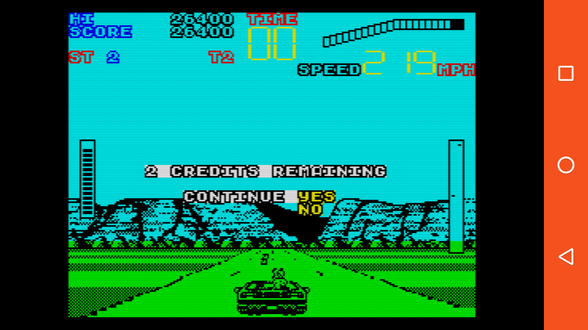 mechafatnick: Chase H.Q. II: Special Criminal Investigation (ZX Spectrum Emulated) 26,400 points on 2016-03-10 14:02:08