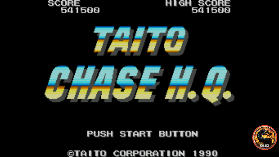 omargeddon: Chase HQ (Sega Master System Emulated) 541,500 points on 2018-12-09 17:47:33