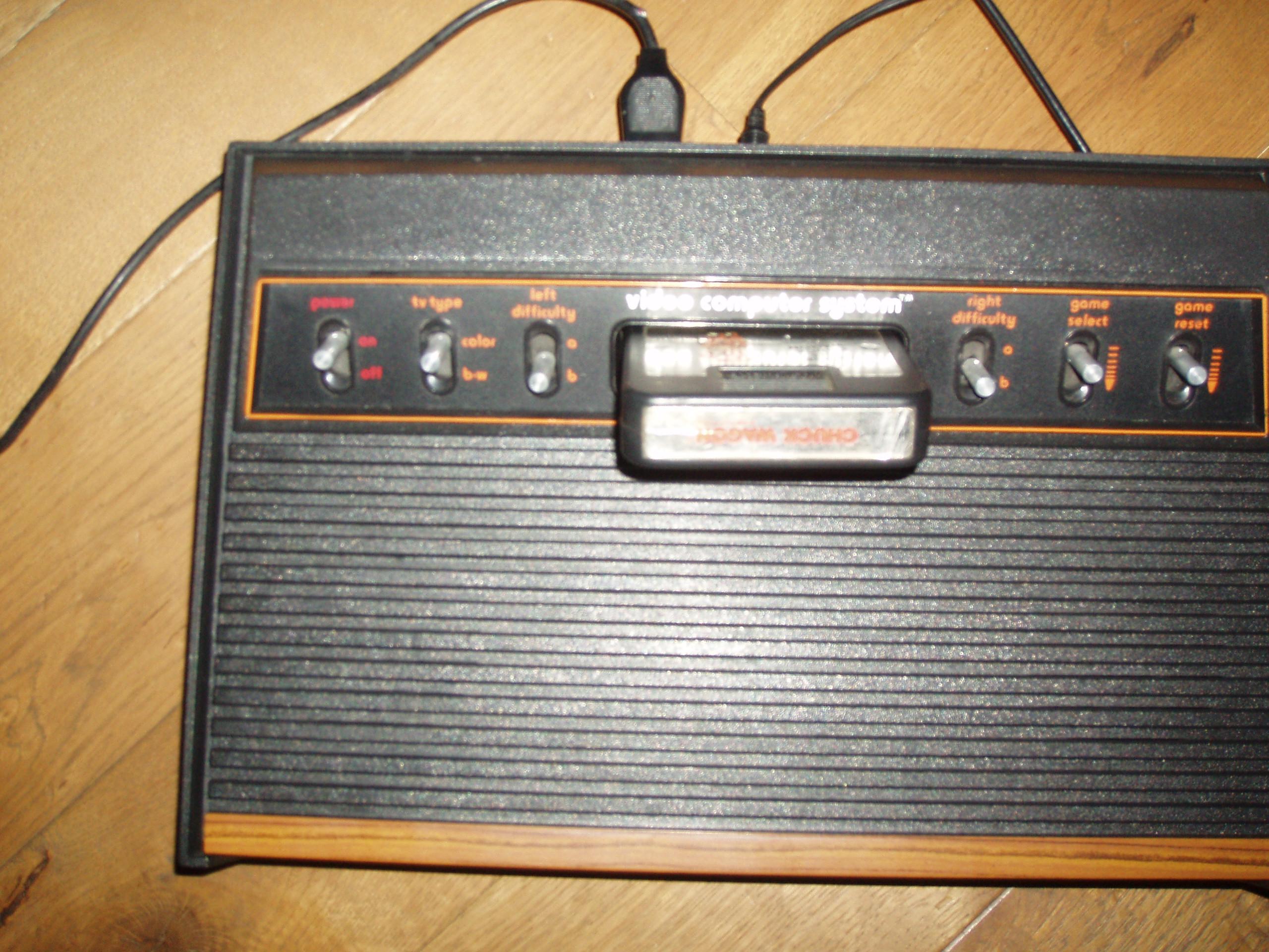 atari2600forever: Chase the Chuck Wagon (Atari 2600 Novice/B) 969 points on 2019-05-03 08:58:39
