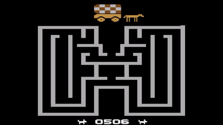 ed1475: Chase the Chuck Wagon (Atari 2600 Emulated Novice/B Mode) 506 points on 2016-10-06 20:07:09