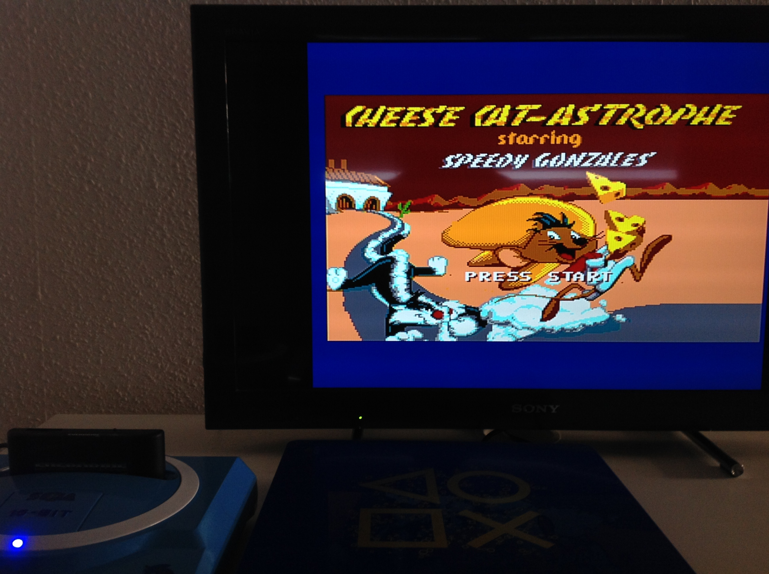CoCoForest: Cheese Cat-Astrophe Starring Speedy Gonzales (Sega Master System) 980 points on 2018-07-24 02:08:59