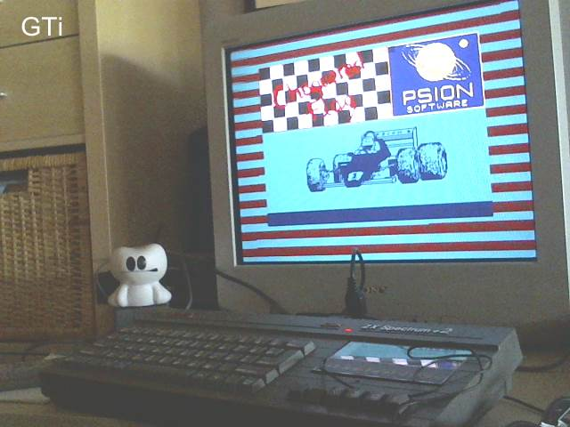 GTibel: Chequered Flag [Saturn Sands - Fastest Lap - Any Car] (ZX Spectrum) 0:01:40.56 points on 2017-05-27 06:38:22