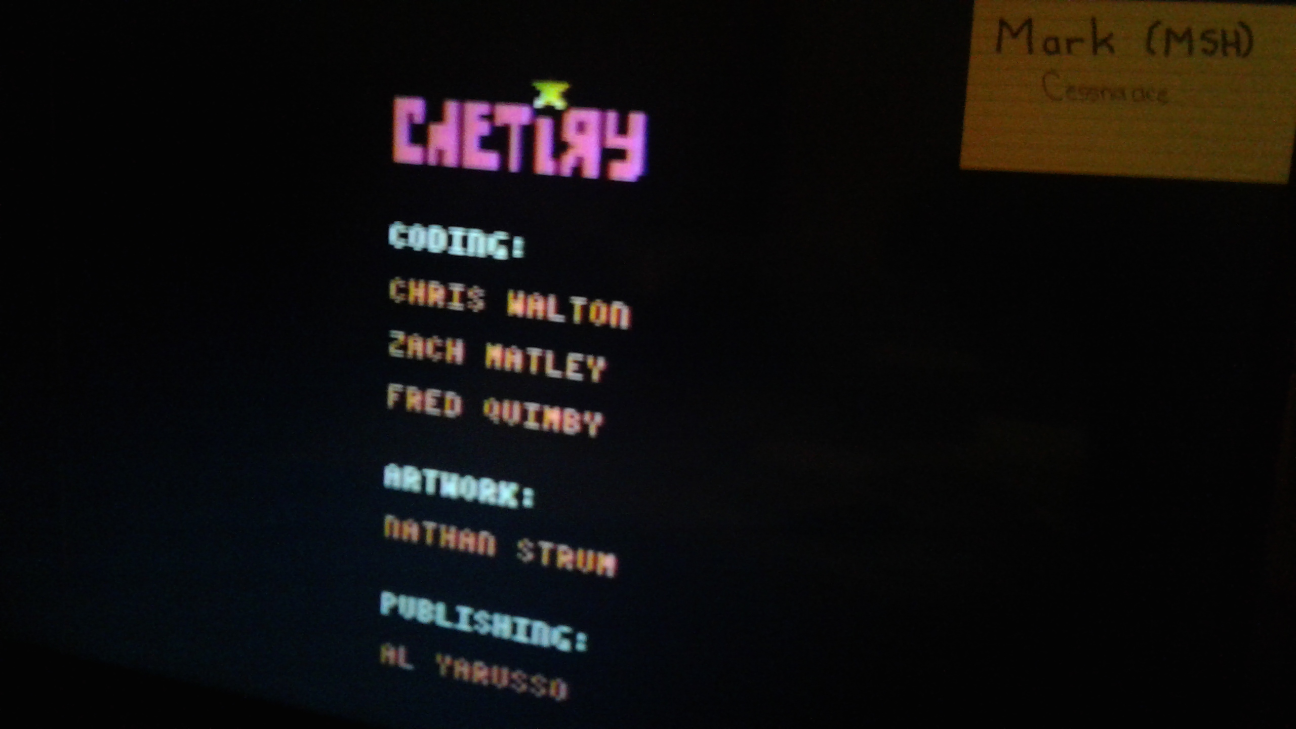 Mark: Chetiry: Ultra (Atari 2600 Novice/B) 18,060 points on 2019-04-24 01:45:15