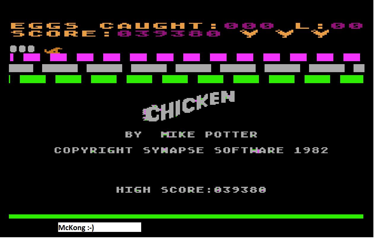 Chicken 39,380 points