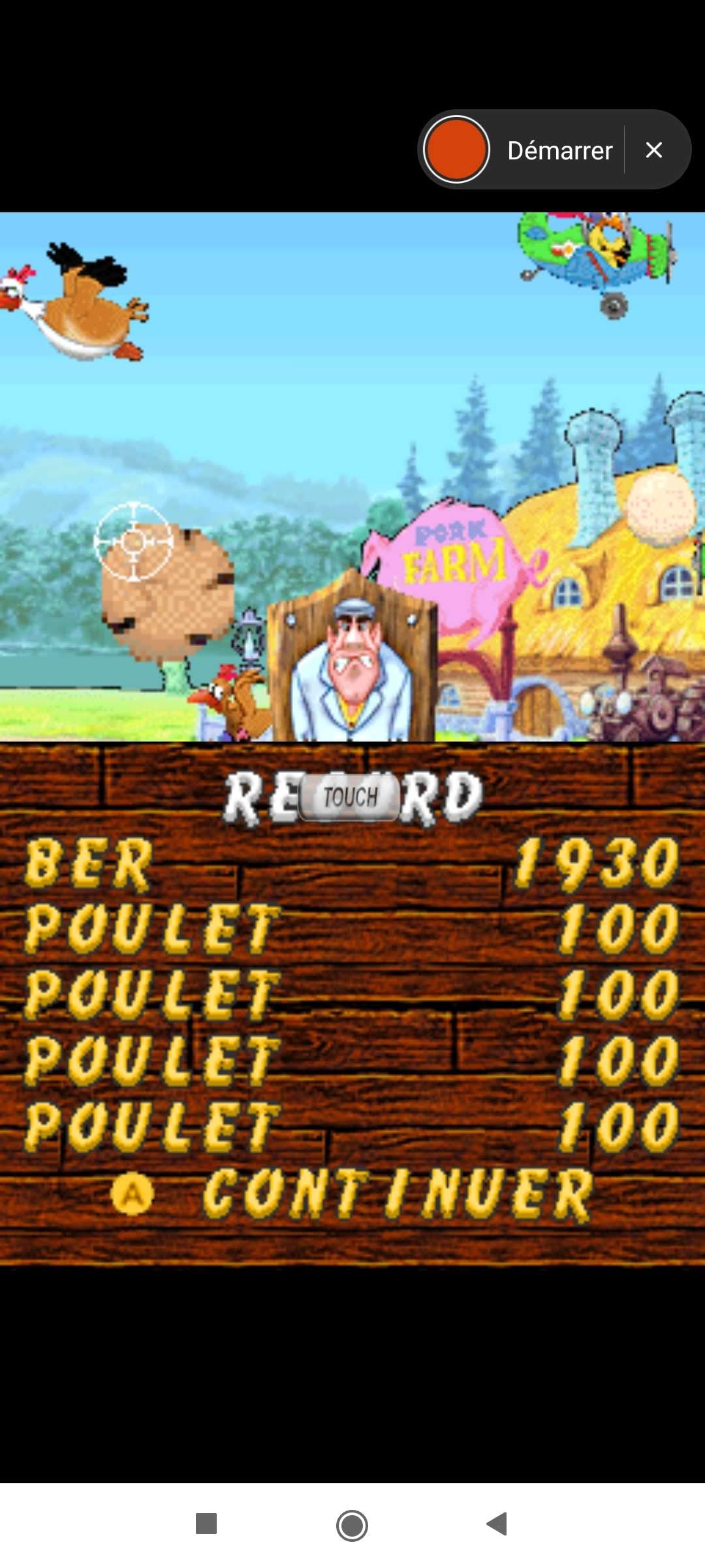 Larquey: Chicken Shoot [Arcade: Easy] (Nintendo DS Emulated) 1,930 points on 2020-09-27 04:35:23