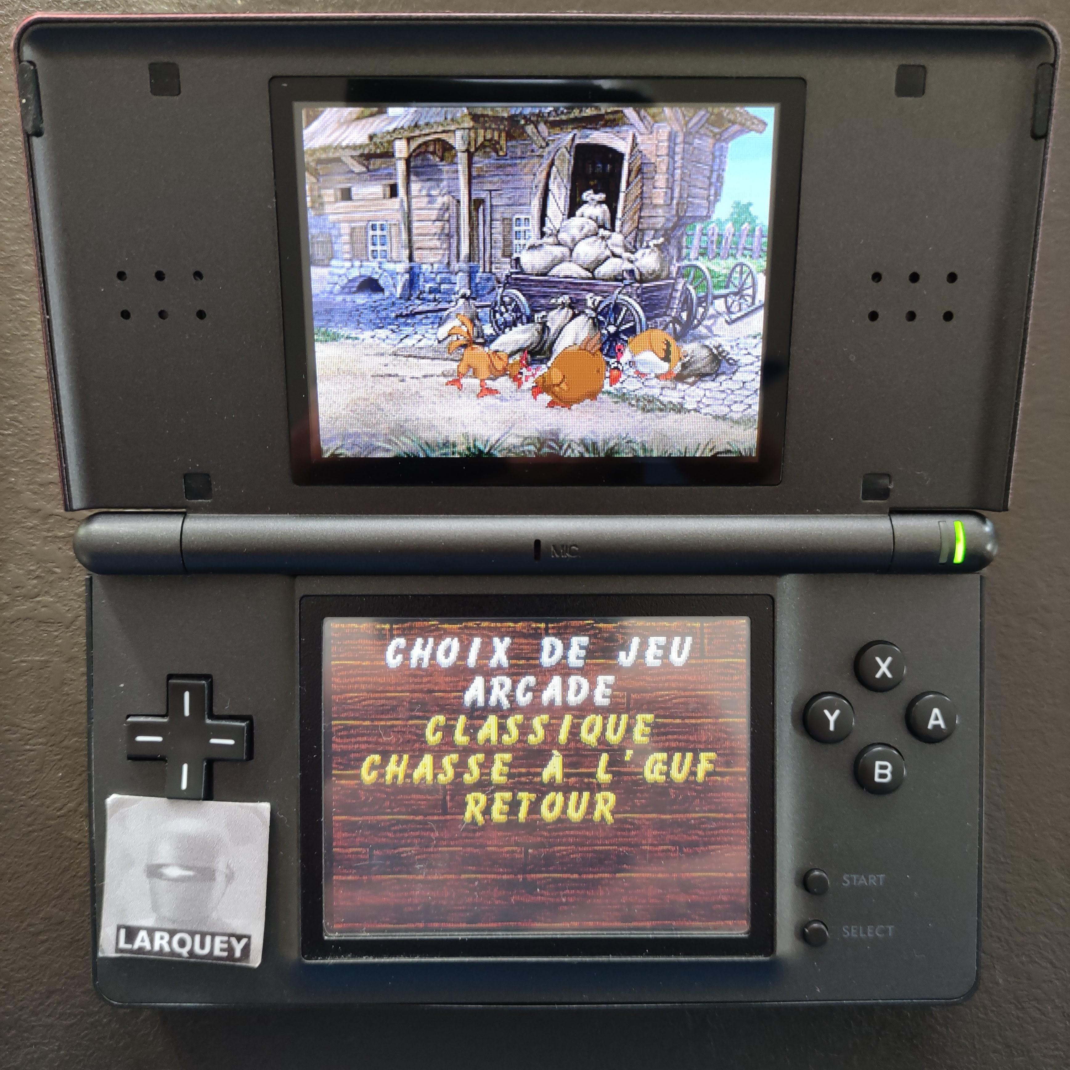 Larquey: Chicken Shoot [Arcade: Hard] (Nintendo DS) 1,990 points on 2020-09-27 03:30:28