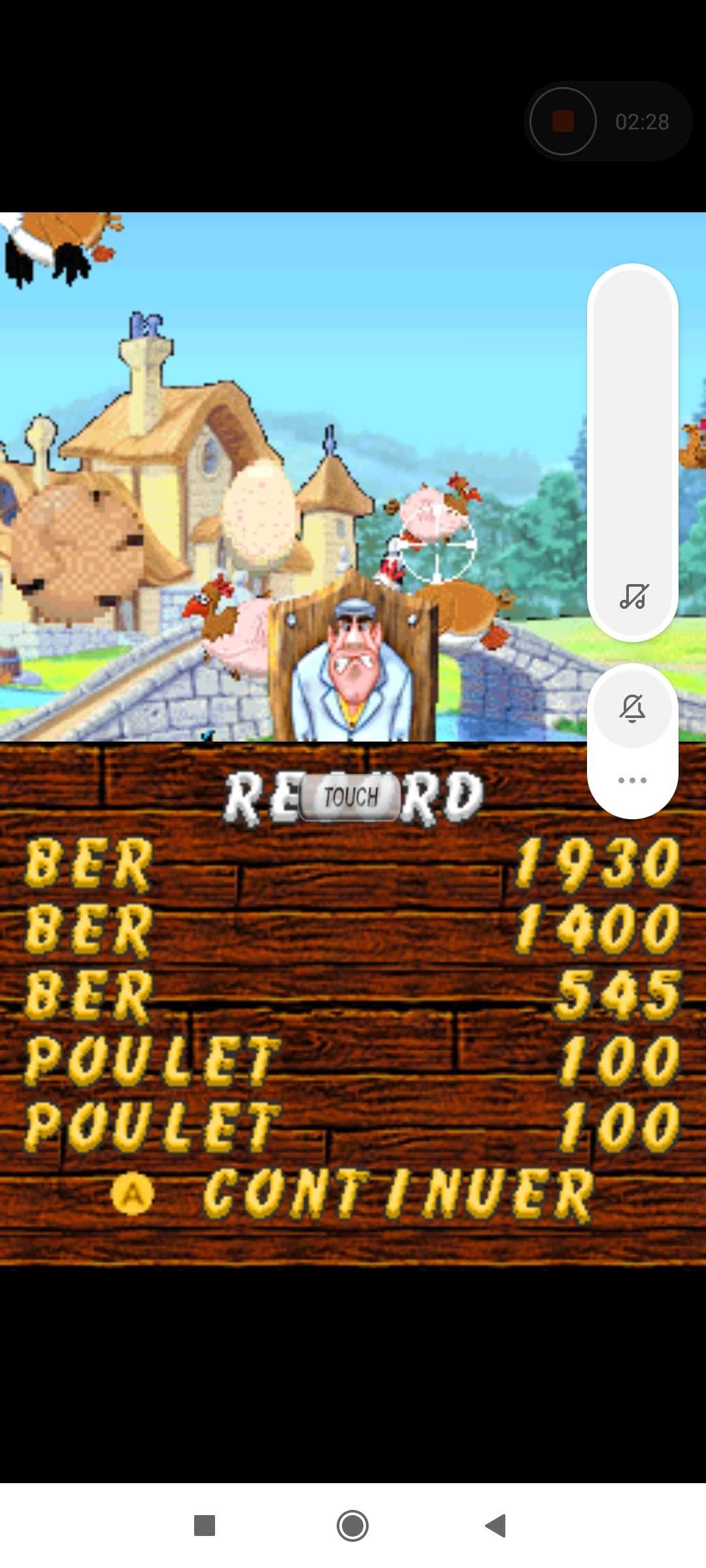 Larquey: Chicken Shoot [Arcade: Hard] (Nintendo DS Emulated) 545 points on 2020-09-27 04:53:40