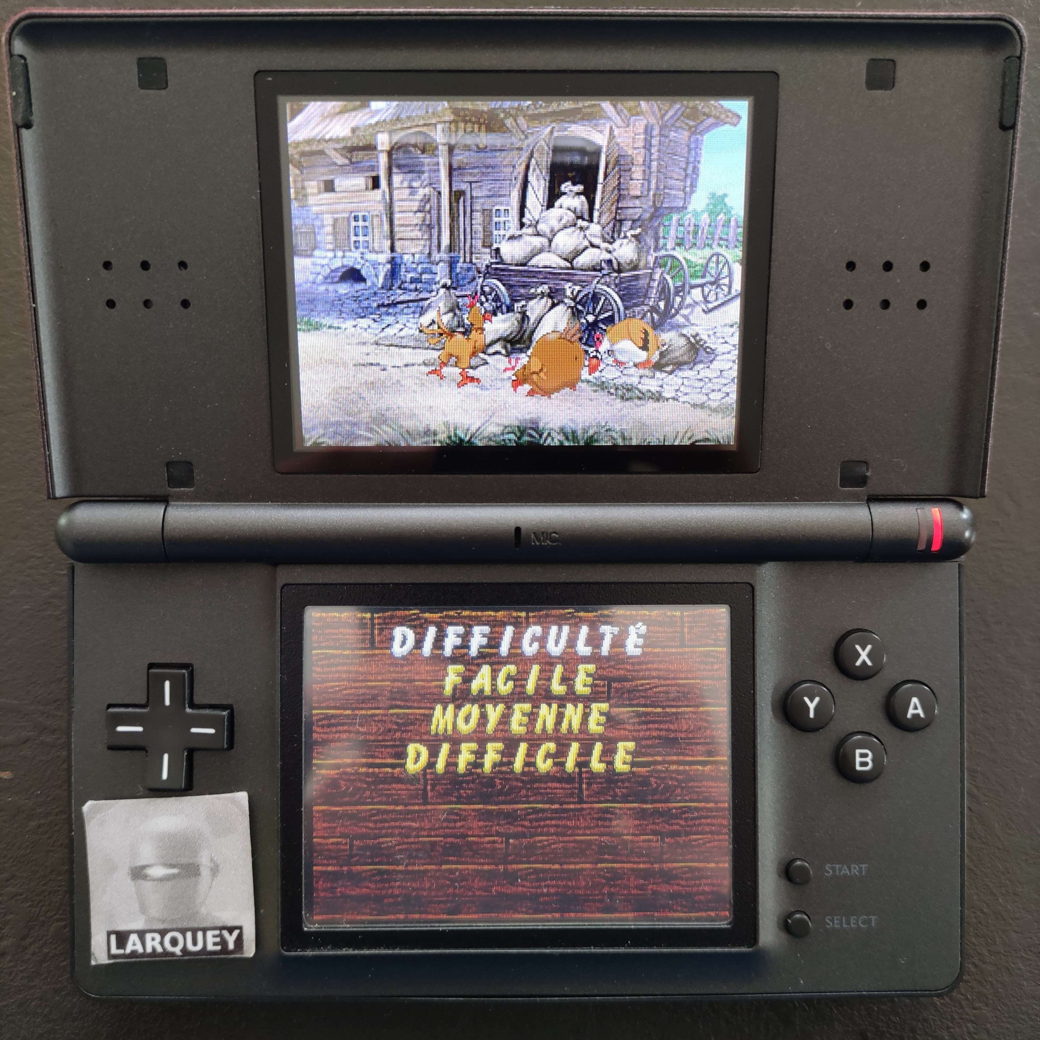 Larquey: Chicken Shoot [Classic: Easy] (Nintendo DS) 4,150 points on 2020-09-27 03:35:19