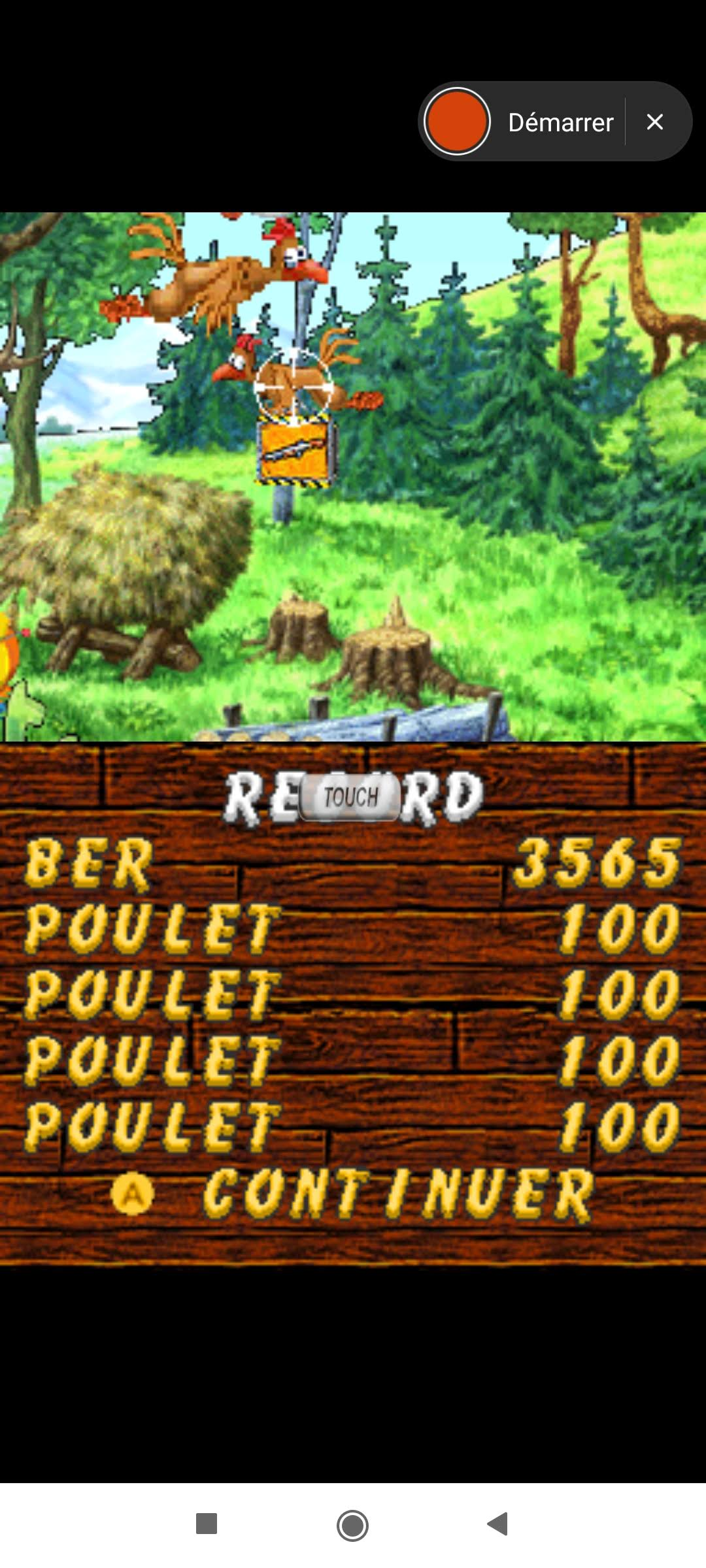 Larquey: Chicken Shoot [Classic: Easy] (Nintendo DS Emulated) 3,565 points on 2020-09-27 05:04:36