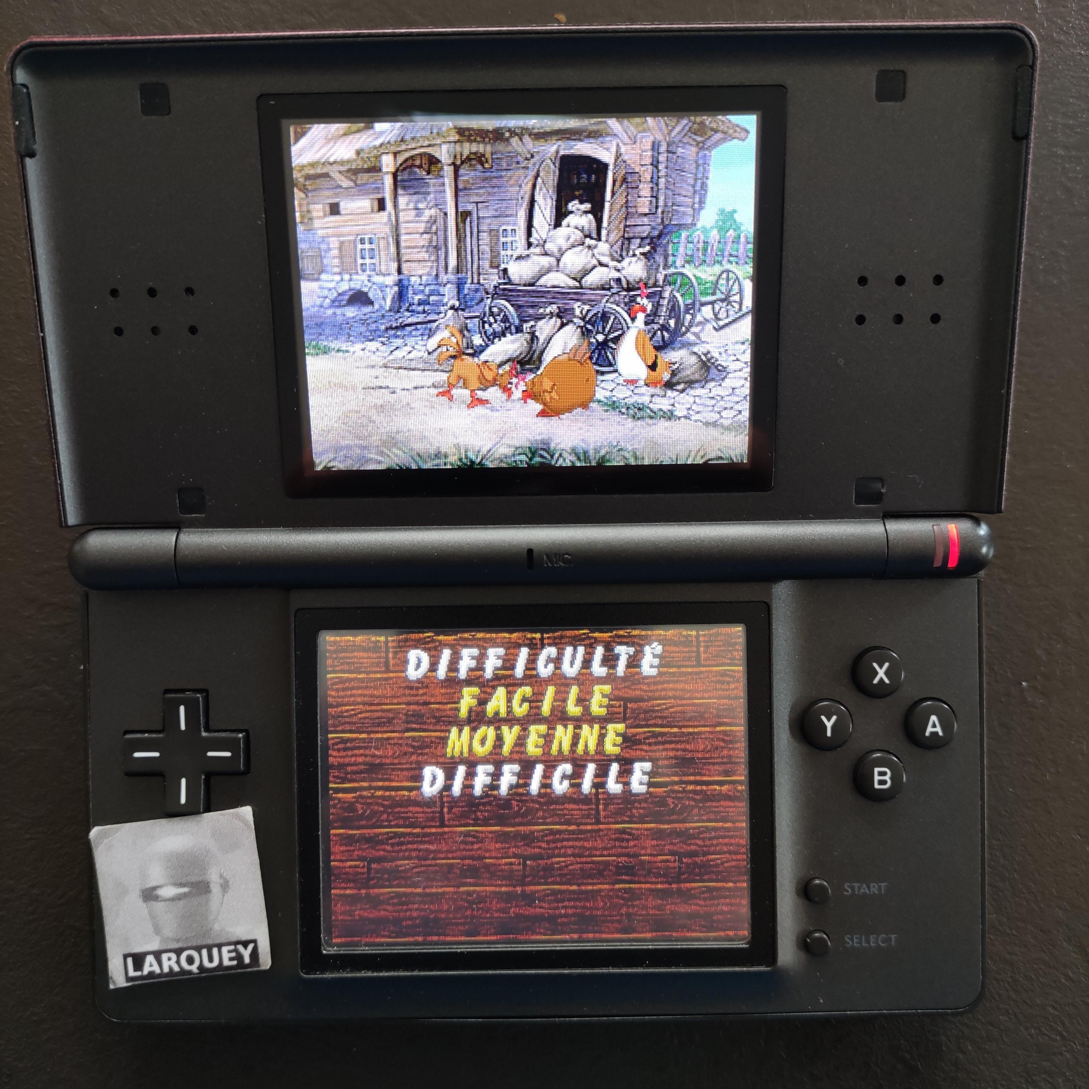 Larquey: Chicken Shoot [Classic: Hard] (Nintendo DS) 1,345 points on 2020-09-27 03:40:19