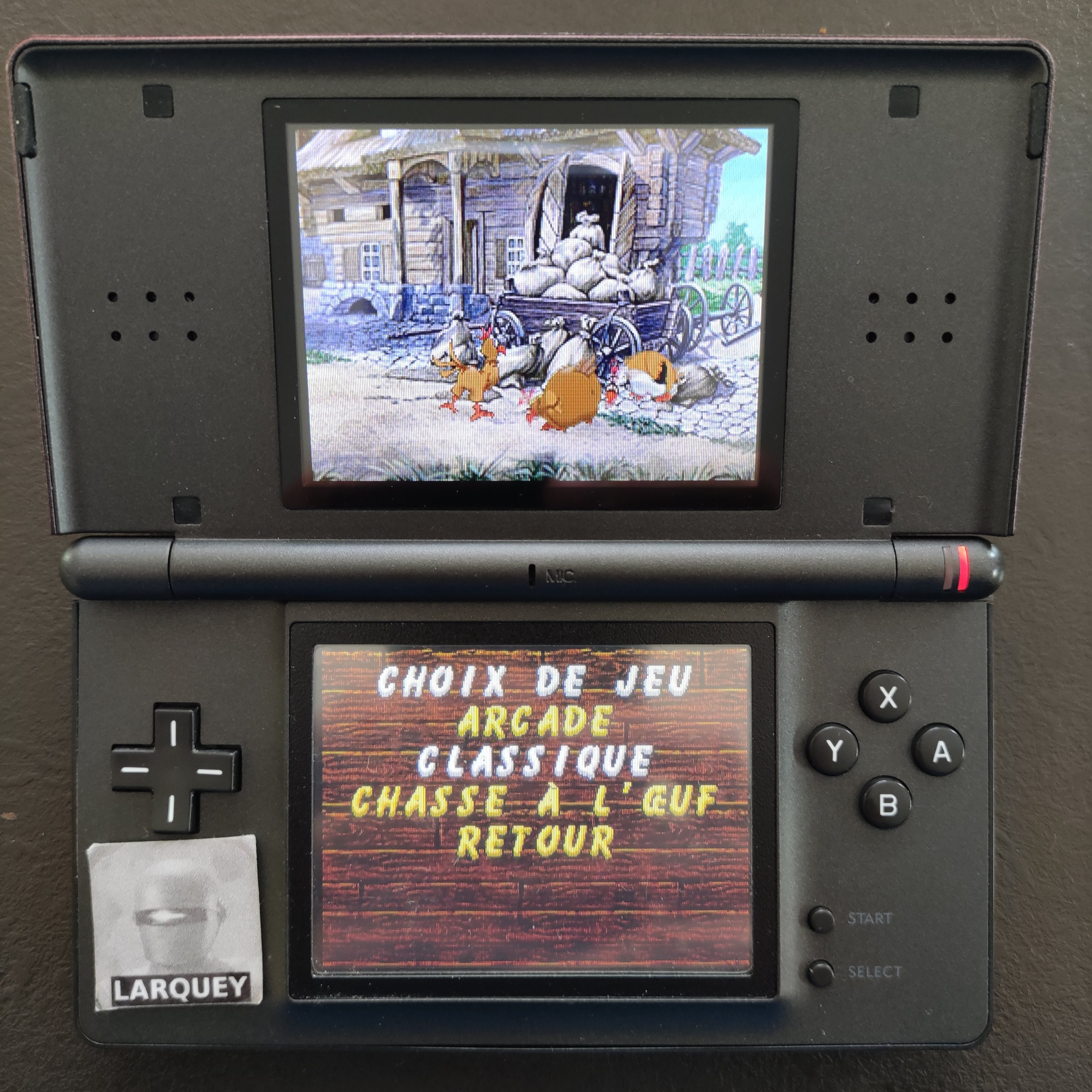 Larquey: Chicken Shoot [Classic: Normal] (Nintendo DS) 2,025 points on 2020-09-27 03:38:19