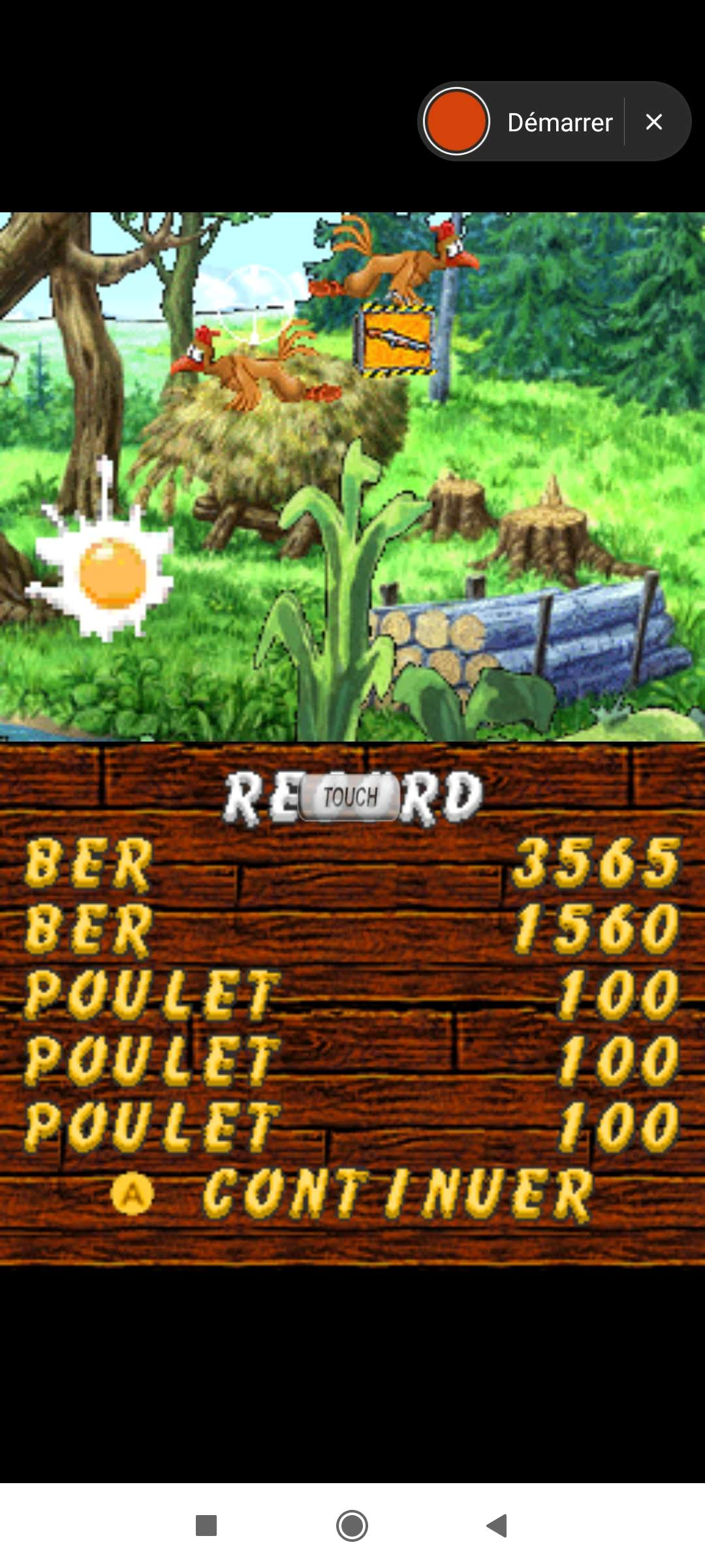 Larquey: Chicken Shoot [Classic: Normal] (Nintendo DS Emulated) 1,560 points on 2020-09-27 05:01:03