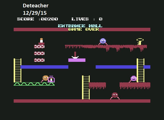 Deteacher: China Miner (Commodore 64 Emulated) 200 points on 2015-12-29 10:05:03
