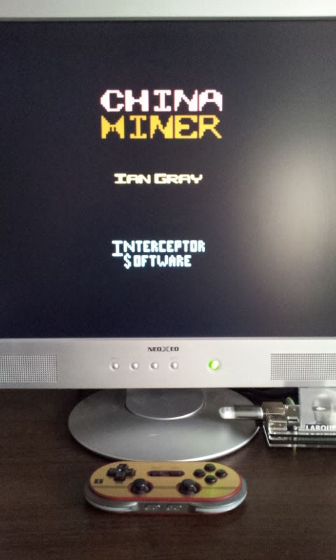 Larquey: China Miner (Commodore 64 Emulated) 200 points on 2017-02-16 09:37:41