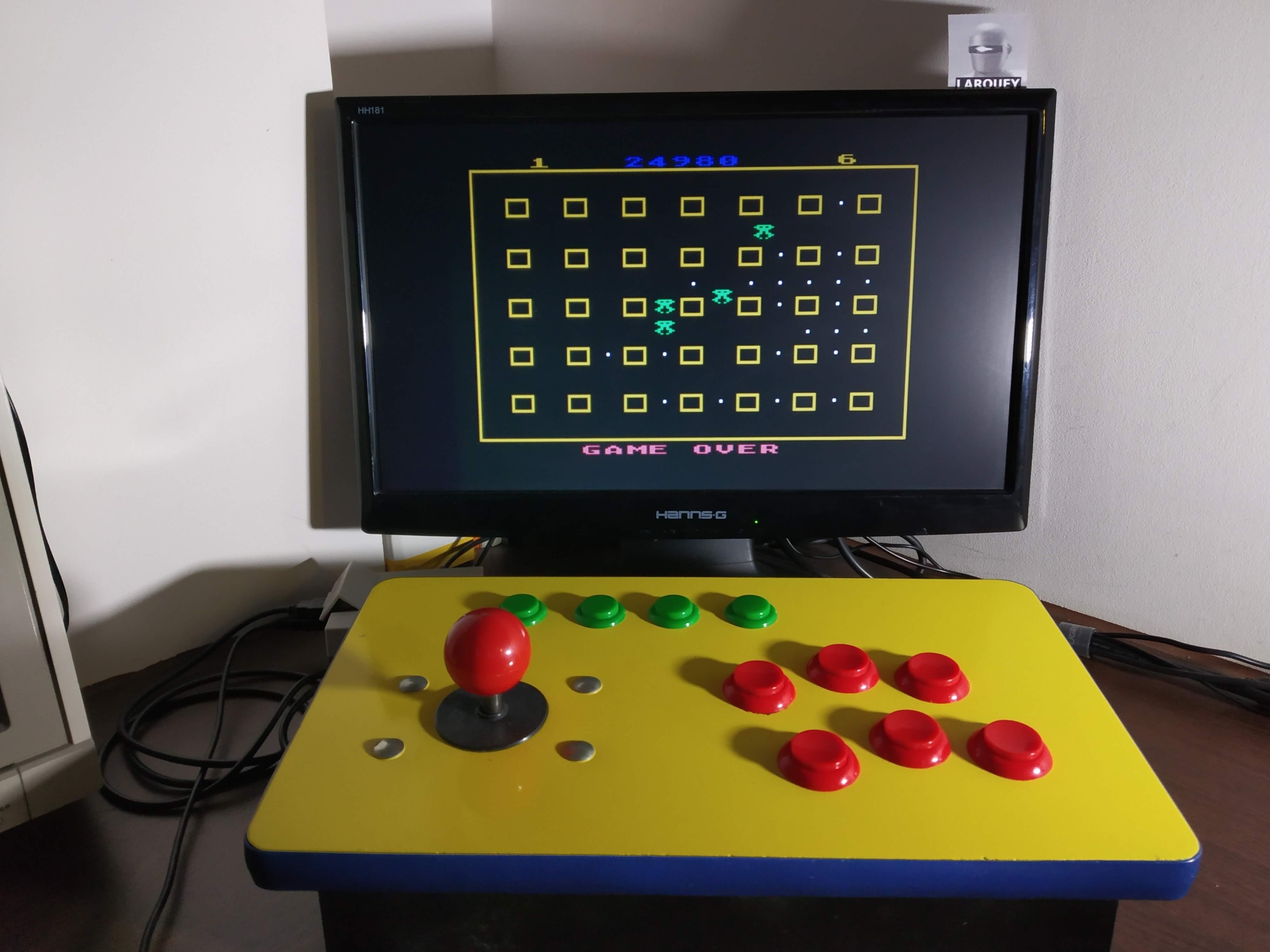 Larquey: Chomper (Atari 400/800/XL/XE Emulated) 24,980 points on 2020-01-05 13:06:12