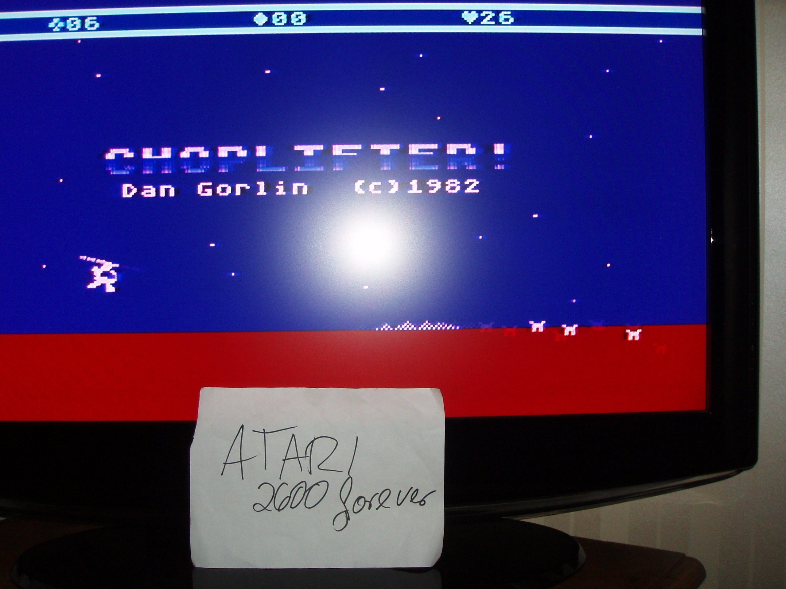 atari2600forever: Choplifter! (Atari 5200) 26 points on 2018-03-21 05:00:13