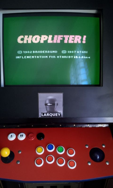 Larquey: Choplifter! (Atari 7800 Emulated) 32 points on 2017-06-18 04:41:38
