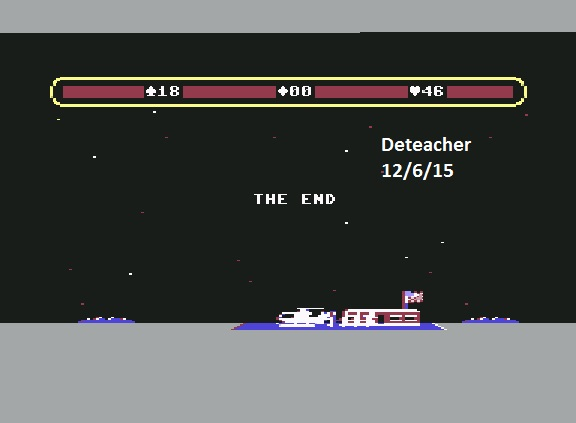 Deteacher: Choplifter (Commodore 64 Emulated) 46 points on 2015-12-06 14:03:42