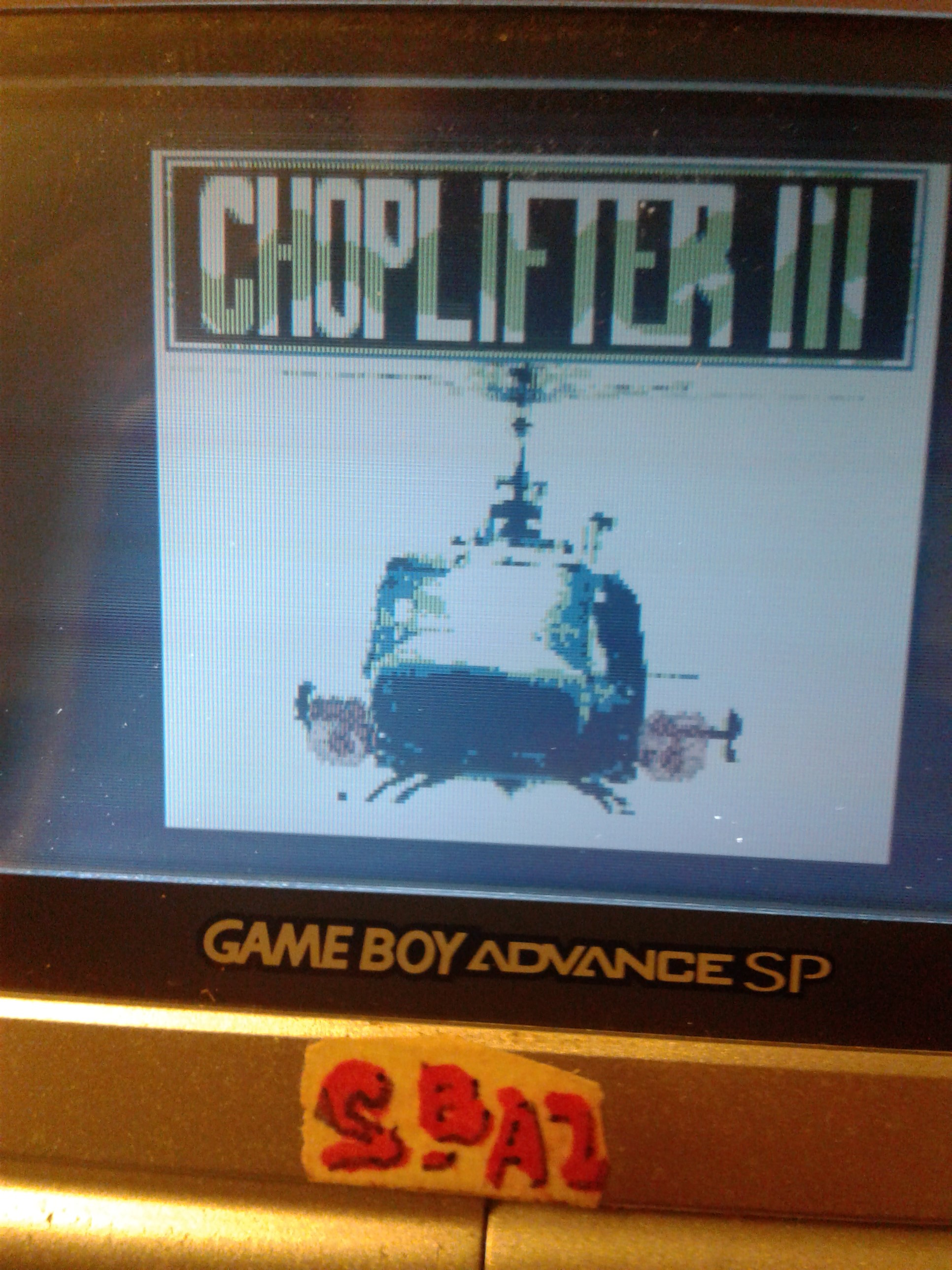 S.BAZ: Choplifter III (Game Boy) 4,010 points on 2019-07-23 23:39:36