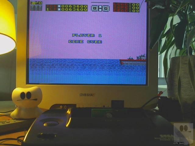 GTibel: Choplifter (Sega Master System) 63,600 points on 2019-09-16 07:11:34
