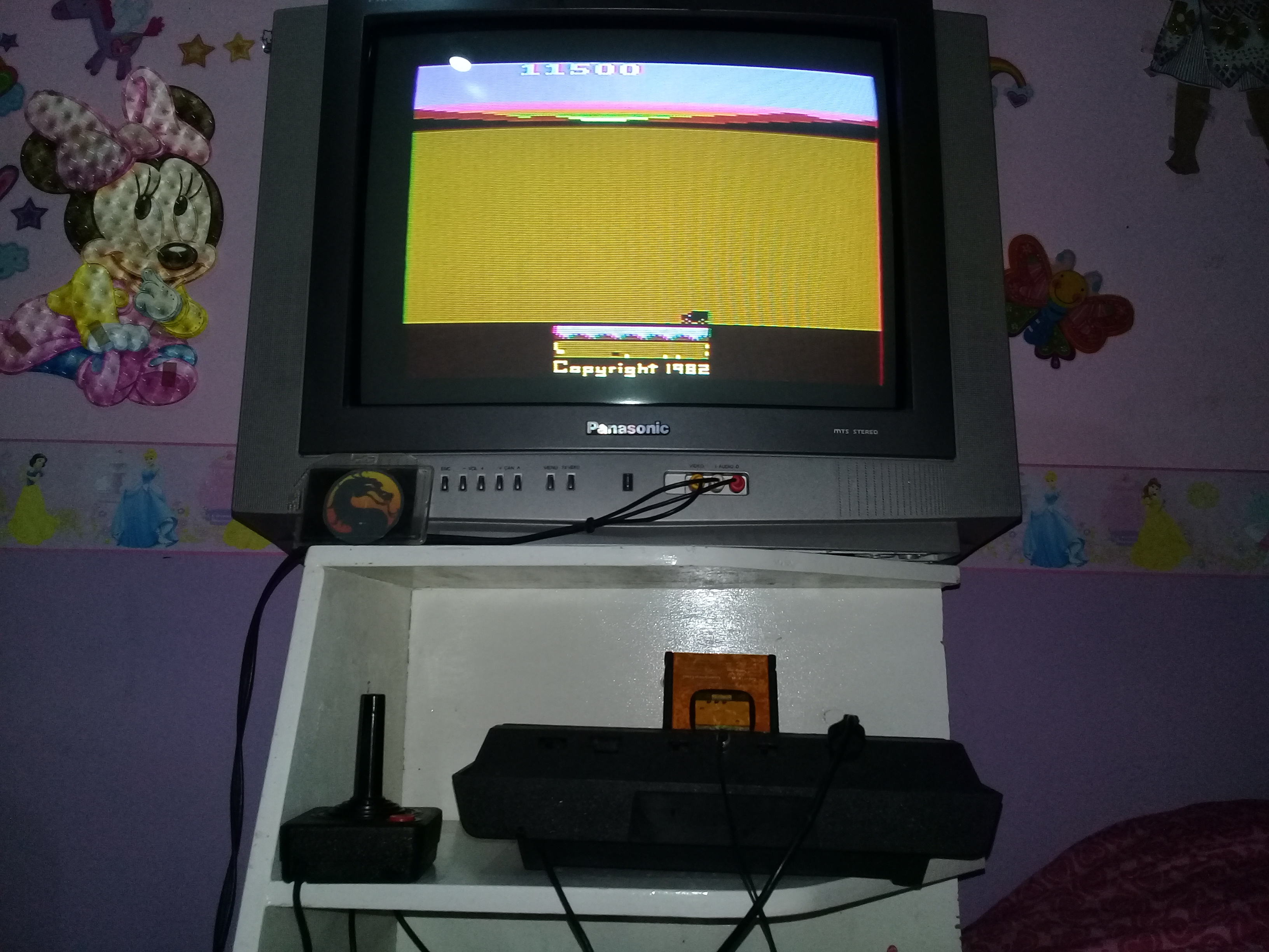 omargeddon: Chopper Command [1 Life Only] (Atari 2600 Novice/B) 11,500 points on 2019-12-08 17:47:45