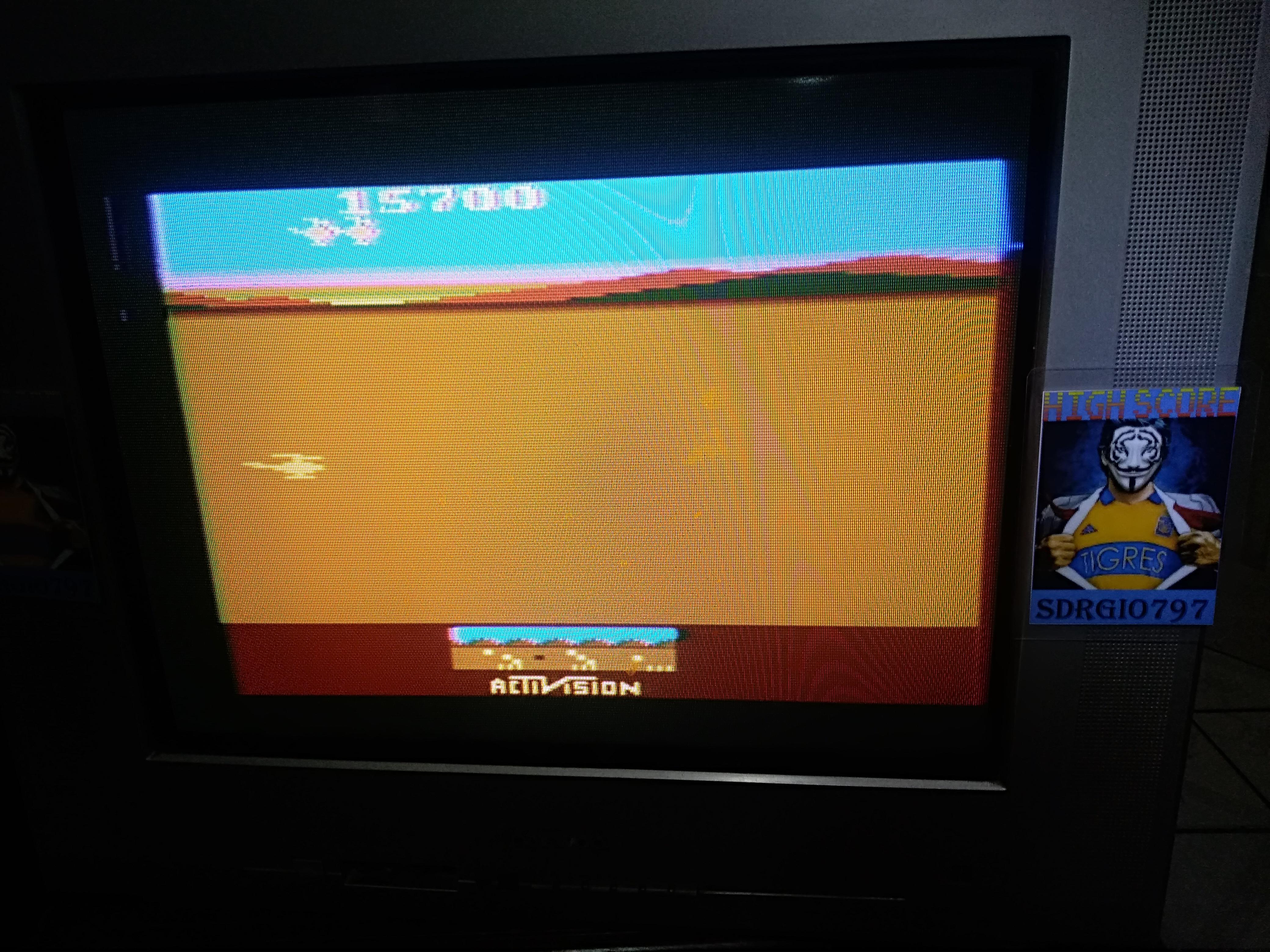 Sdrgio797: Chopper Command [1 Life Only] (Atari 2600 Novice/B) 15,700 points on 2020-08-11 19:59:34