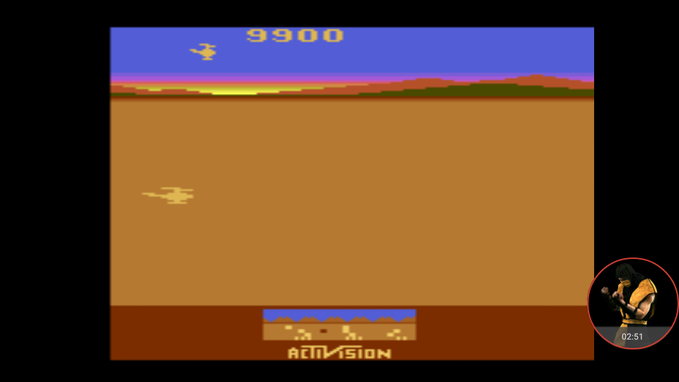 omargeddon: Chopper Command [1 Life Only] (Atari 2600 Emulated Novice/B Mode) 9,900 points on 2018-01-04 16:43:02