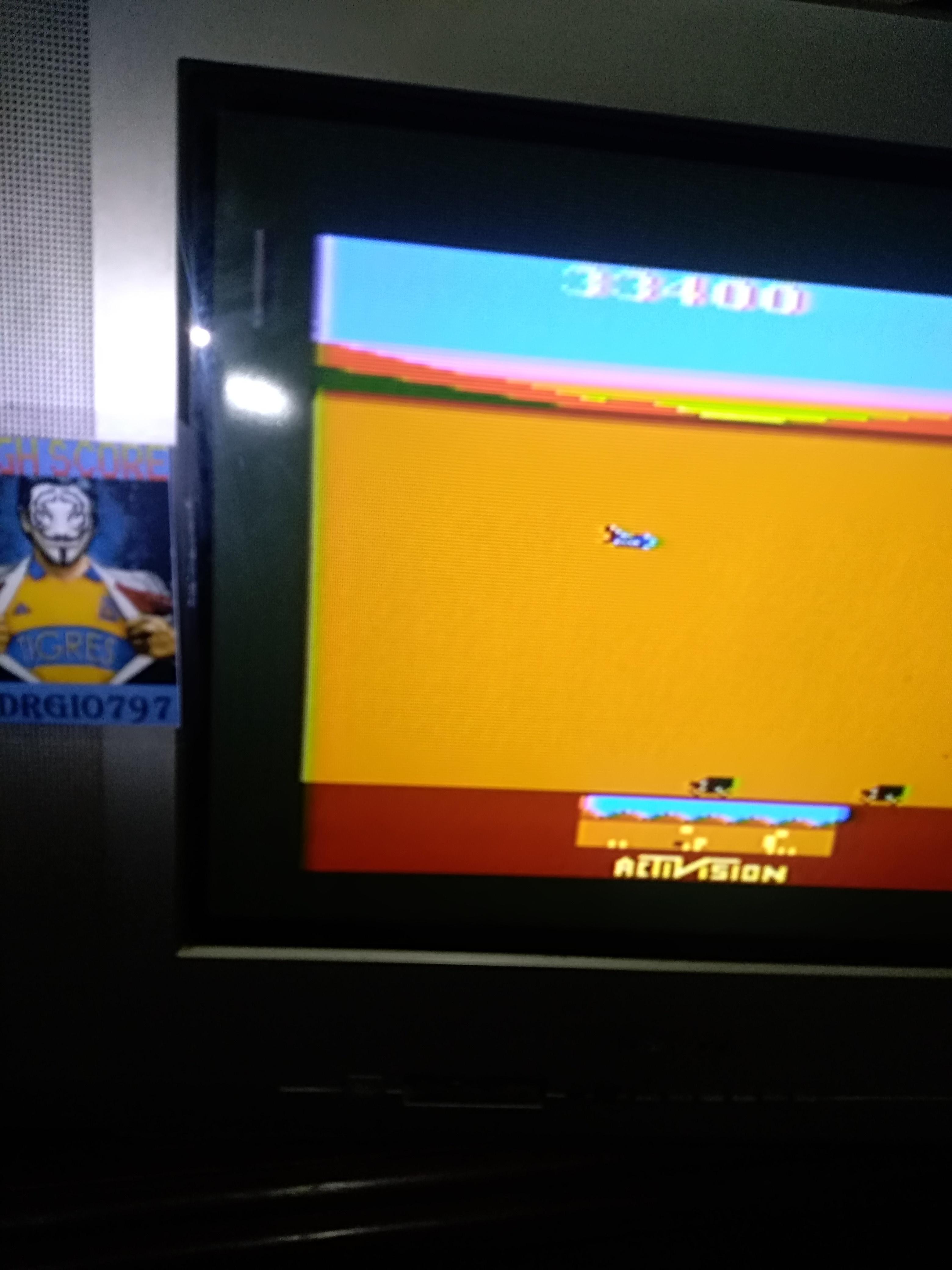 Sdrgio797: Chopper Command (Atari 2600 Expert/A) 33,400 points on 2020-07-27 00:58:46