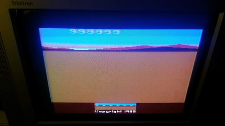 NESMike: Chopper Command (Atari 2600 Novice/B) 999,999 points on 2018-09-15 13:31:38