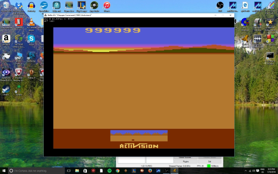 MikeDietrich: Chopper Command (Atari 2600 Emulated Novice/B Mode) 999,999 points on 2016-11-17 13:40:28