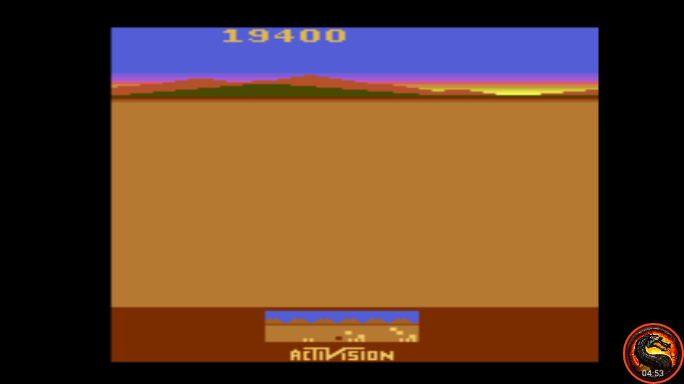 omargeddon: Chopper Command (Atari 2600 Emulated Novice/B Mode) 19,400 points on 2020-08-20 00:08:36