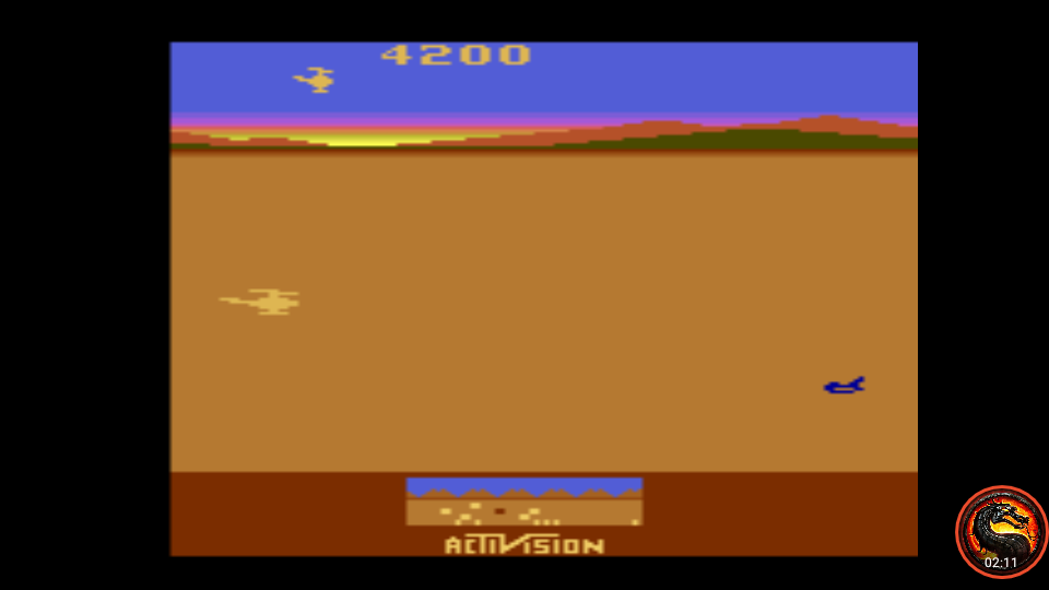 omargeddon: Chopper Command: Game 3 [1 Life Only] (Atari 2600 Emulated Expert/A Mode) 4,200 points on 2020-07-10 01:18:38