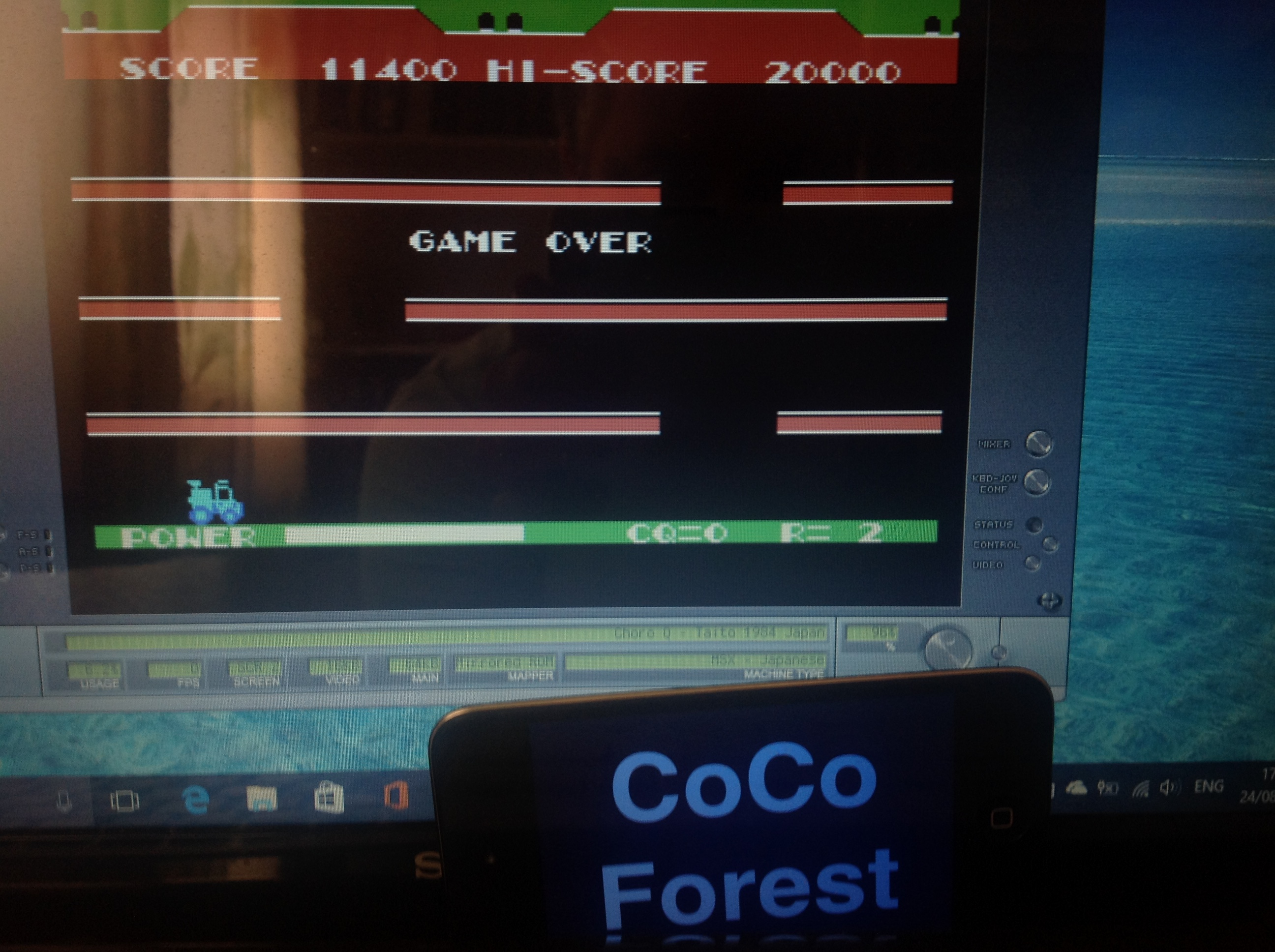 CoCoForest: ChoroQ (MSX Emulated) 11,400 points on 2017-08-24 11:28:21