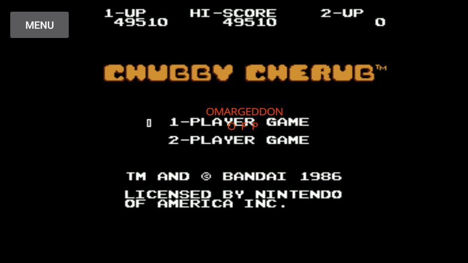 Chubby Cherub 49,510 points