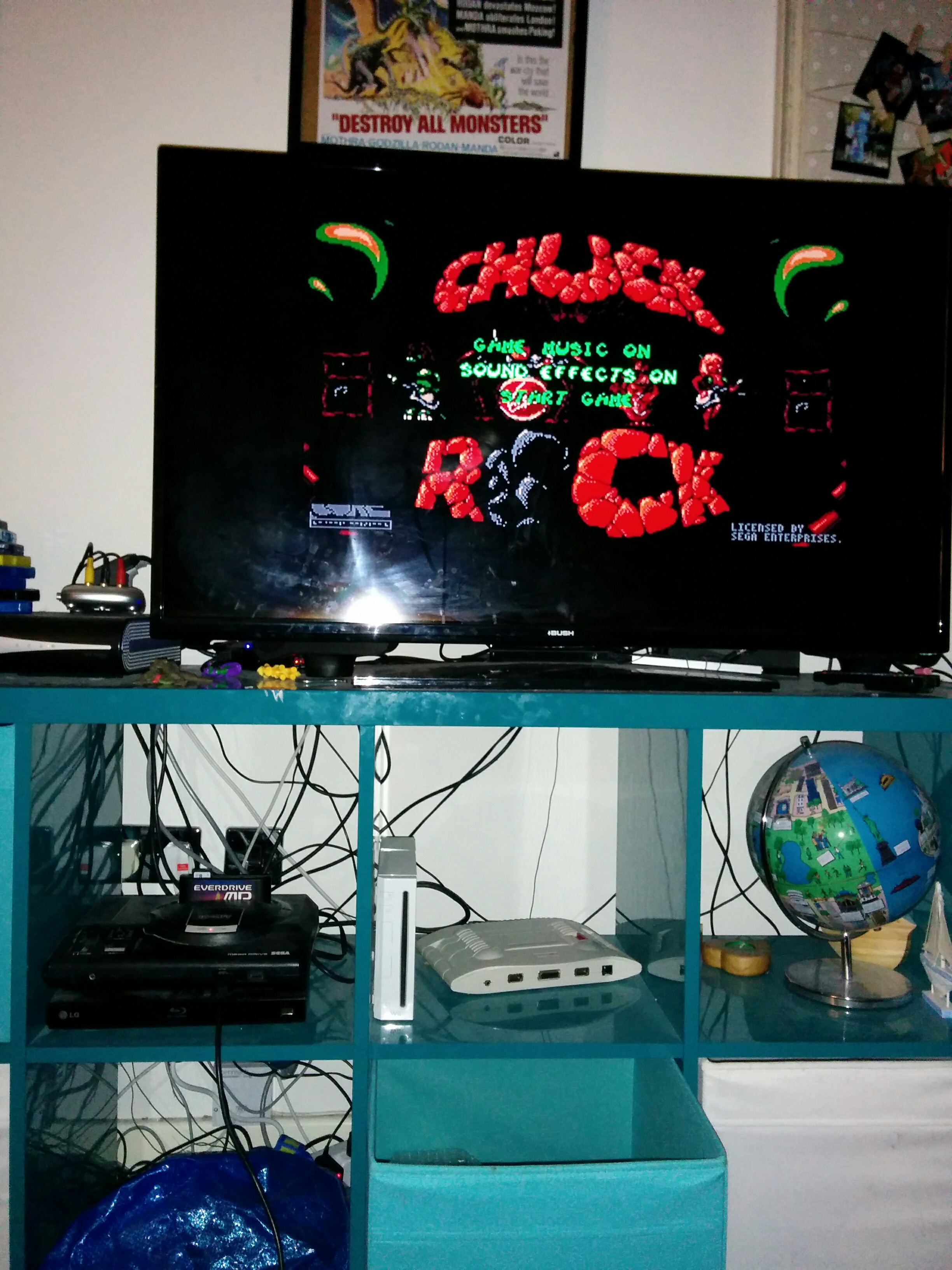 mechafatnick: Chuck Rock (Sega Genesis / MegaDrive) 164,500 points on 2016-03-24 02:30:59