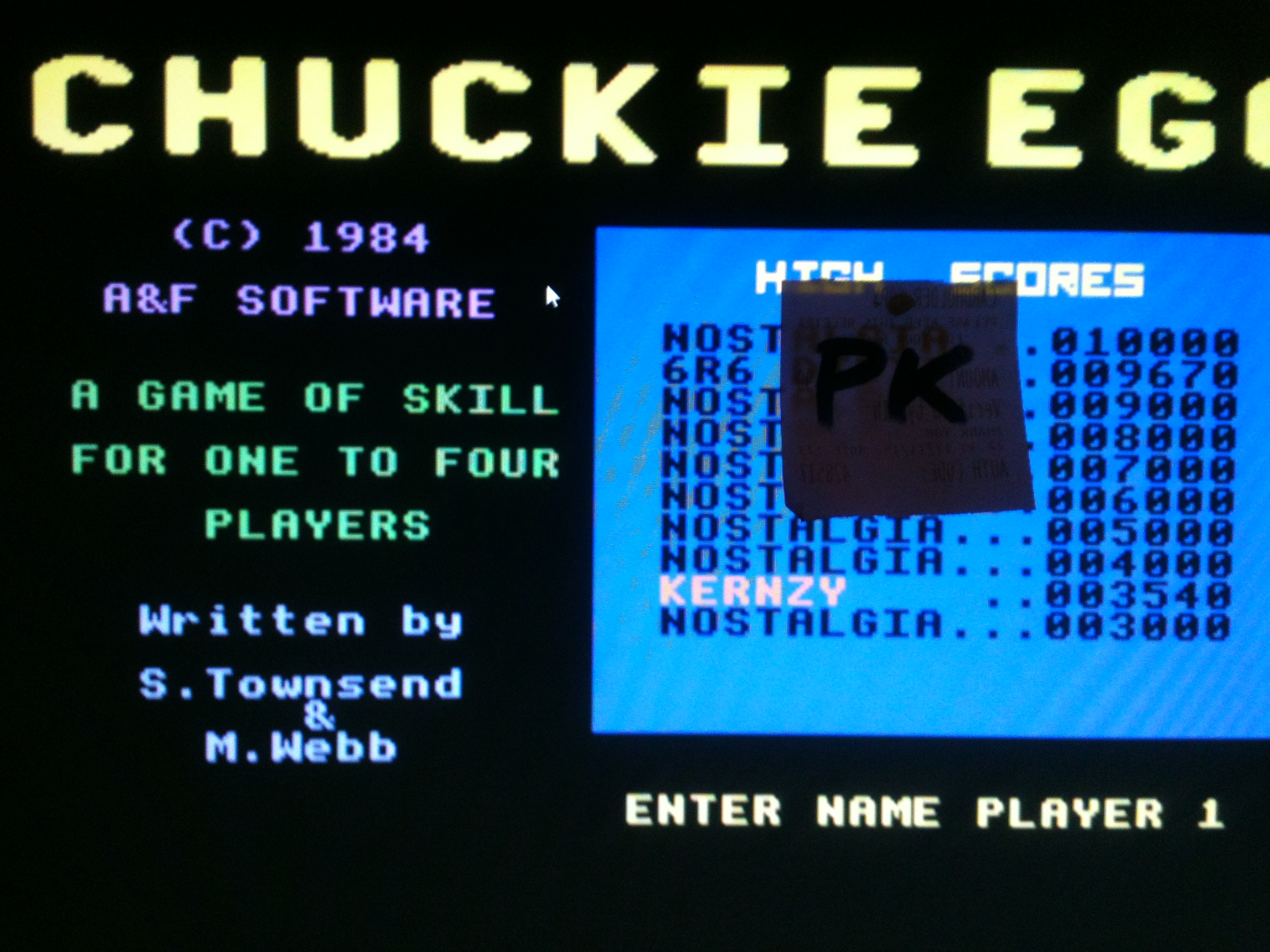 kernzy: Chuckie Egg: Speed 3 (Commodore 64 Emulated) 3,540 points on 2015-12-19 14:00:35