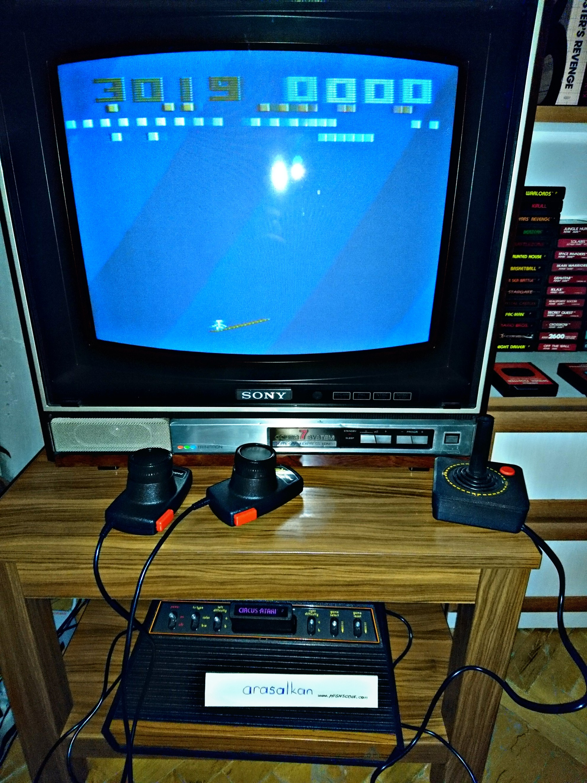 arasalkan: Circus Atari (Atari 2600 Expert/A) 3,019 points on 2017-11-21 14:00:34