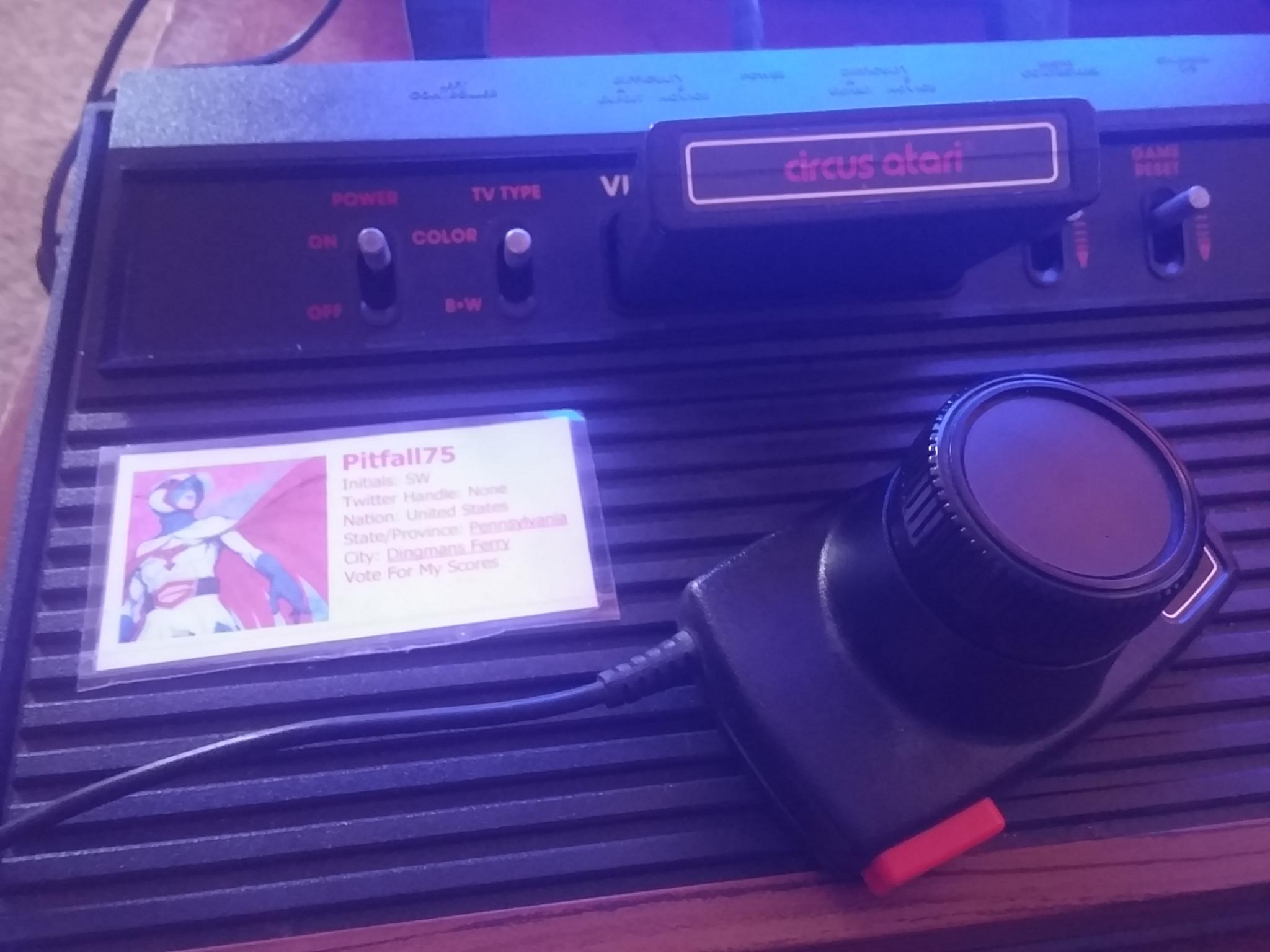 Circus Atari 3,393 points