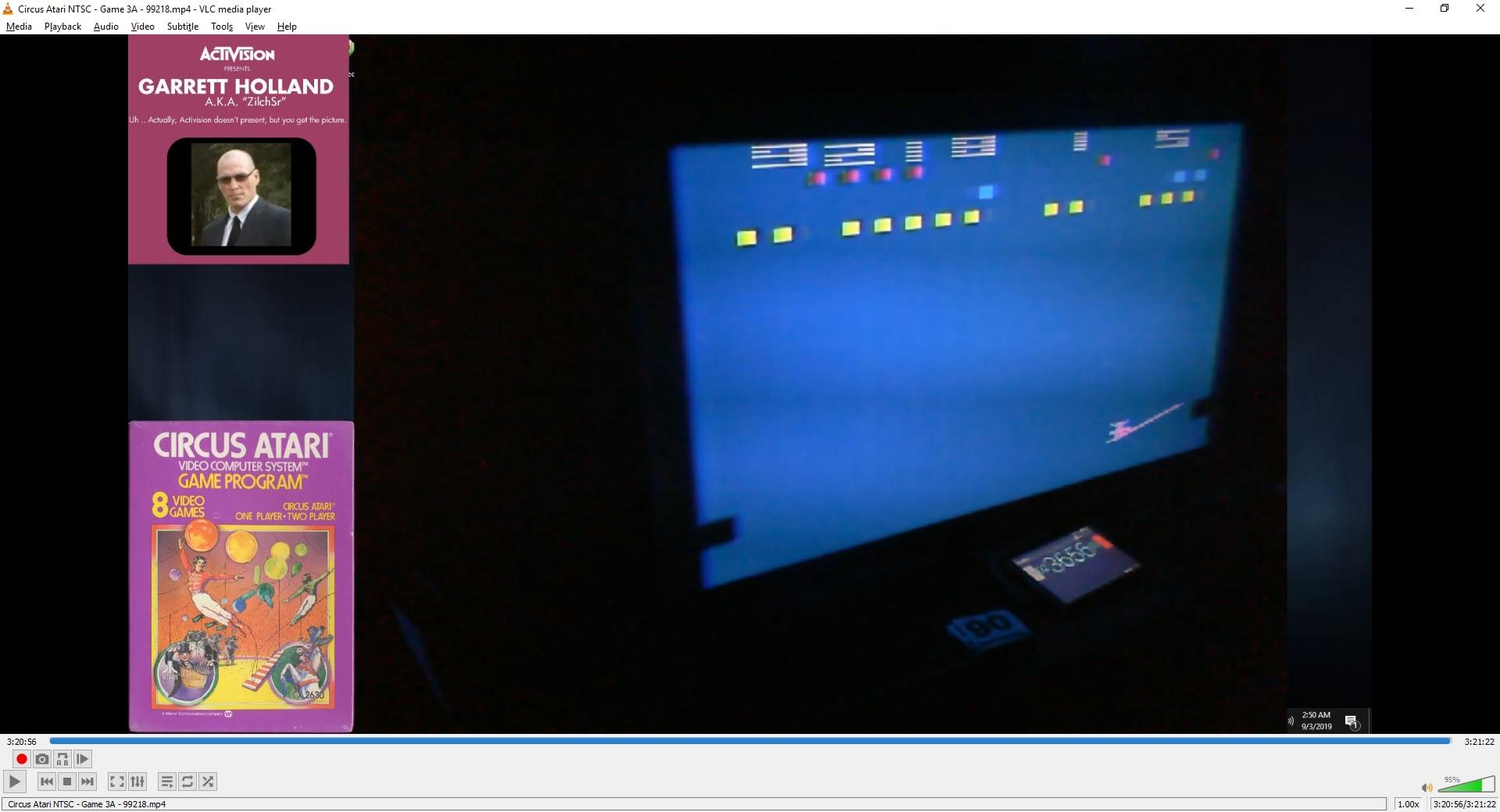 ZilchSr: Circus Atari: Game 3 (Atari 2600 Expert/A) 99,218 points on 2019-09-29 18:38:18