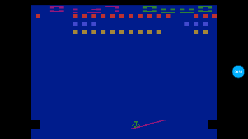 omargeddon: Circus Atari: Game 3 (Atari 2600 Emulated Expert/A Mode) 137 points on 2018-07-13 12:41:06