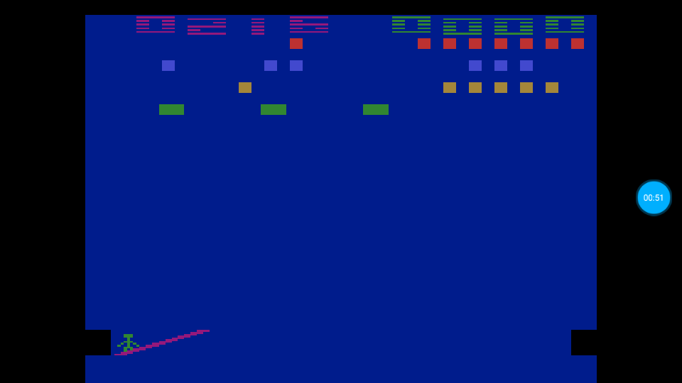 omargeddon: Circus Atari: Game 4 (Atari 2600 Emulated Expert/A Mode) 216 points on 2018-07-13 12:41:45