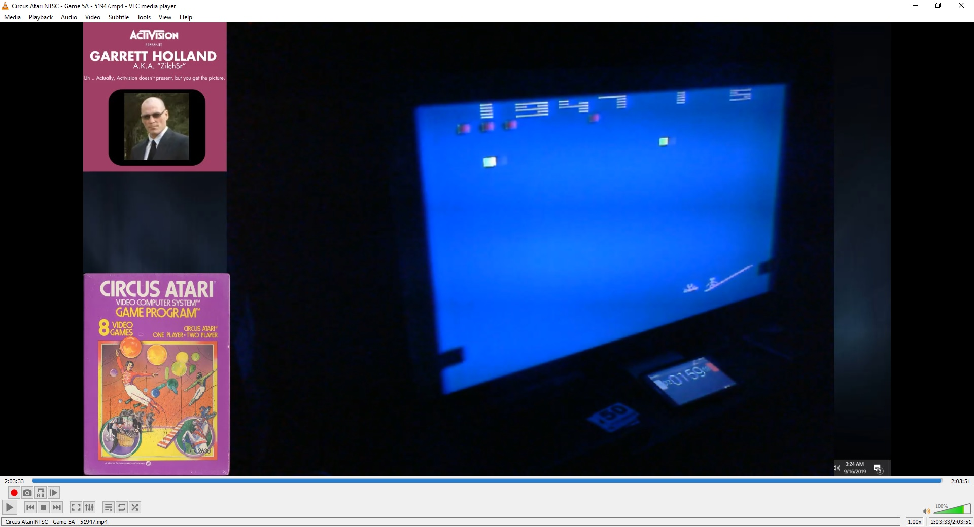 ZilchSr: Circus Atari: Game 5 (Atari 2600 Expert/A) 51,947 points on 2019-09-29 16:30:03