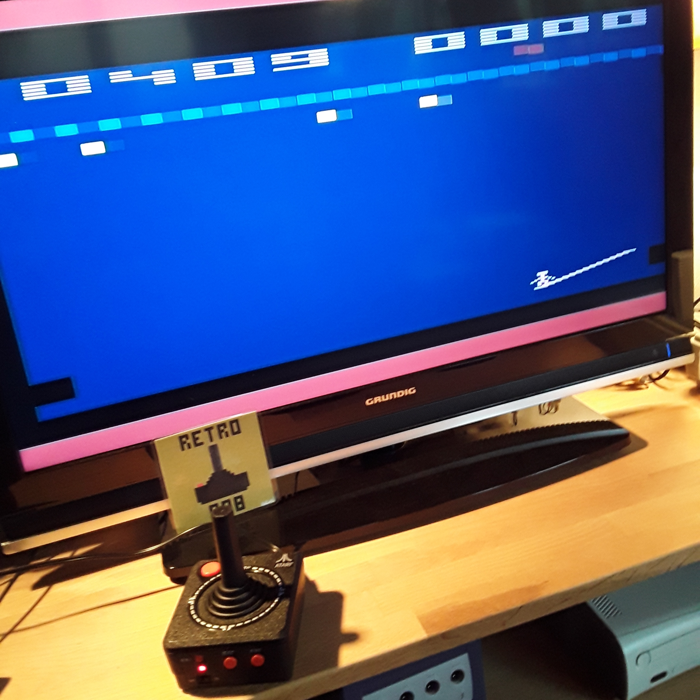 RetroRob: Circus Atari (Jakks Pacific Atari TV Joystick) 409 points on 2018-12-02 07:30:46
