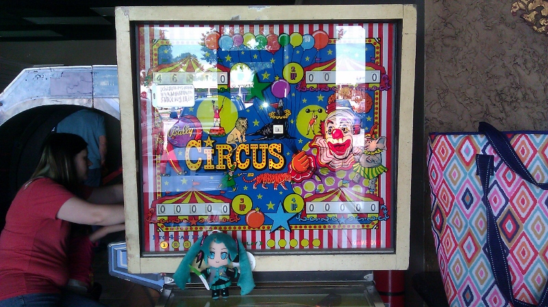 ichigokurosaki1991: Circus [Bally 1973] (Pinball: 5 Balls) 46,810 points on 2016-05-23 22:58:06
