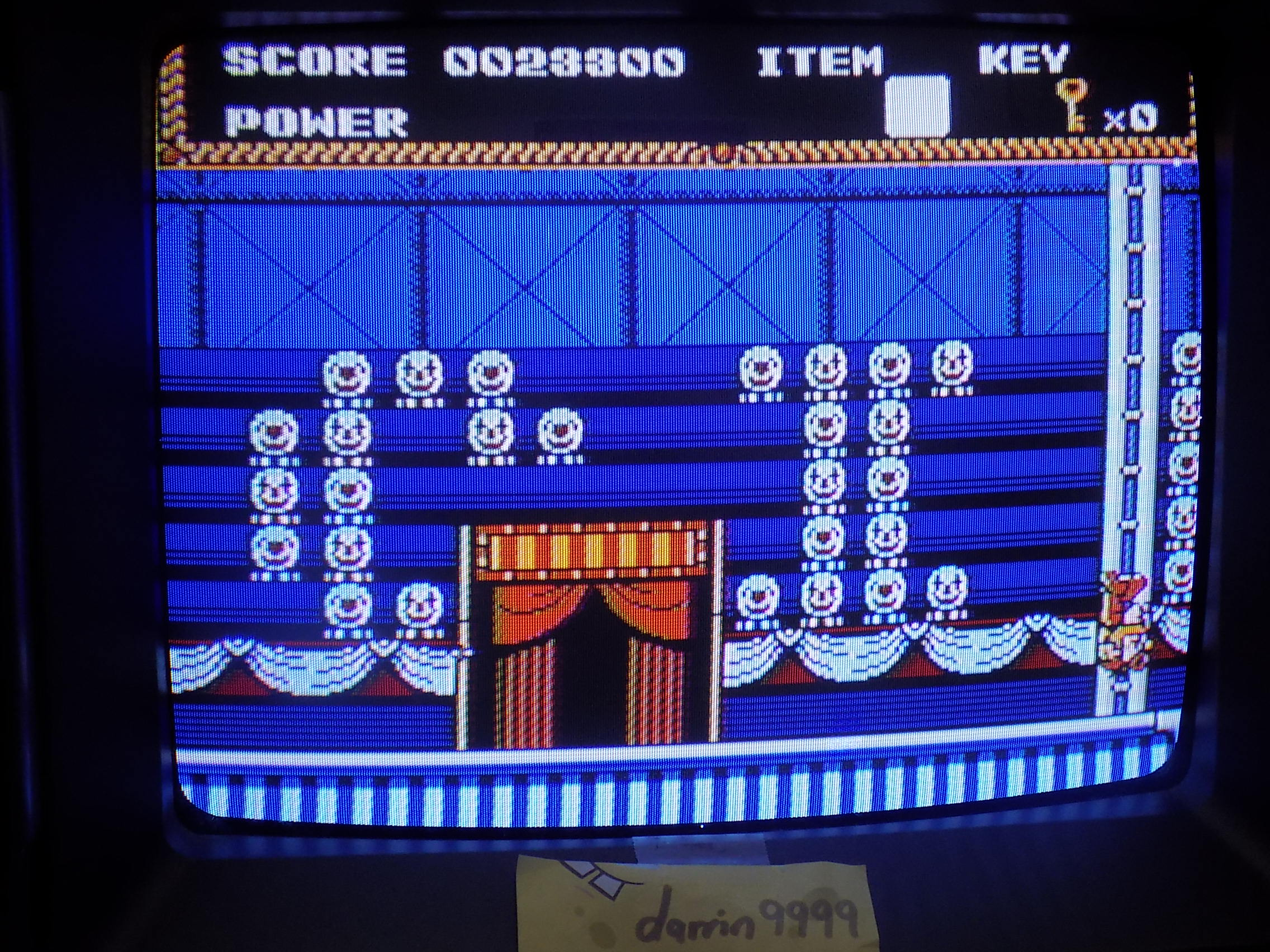 darrin9999: Circus Caper (NES/Famicom) 23,300 points on 2018-02-11 10:50:30
