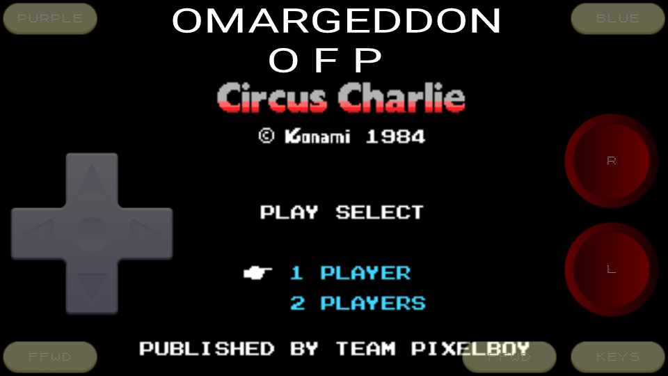 omargeddon: Circus Charlie (Colecovision Emulated) 17,510 points on 2016-11-27 23:47:05