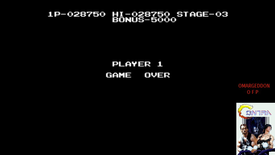 omargeddon: Circus Charlie (MSX Emulated) 28,750 points on 2017-10-04 10:02:47
