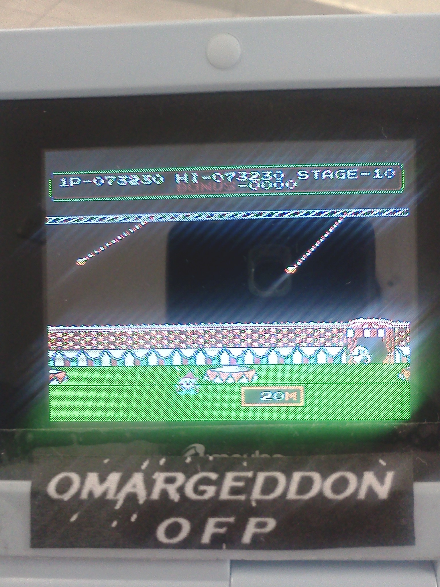 omargeddon: Circus Charlie (NES/Famicom Emulated) 73,230 points on 2016-08-01 15:54:52